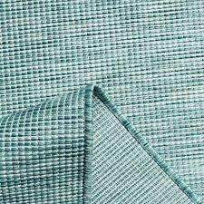 Indoor Outdoor Rugs Rain Resistant Lightweight Duck Egg Blue Garden Summer Mats