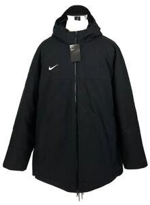Nike Team Training Down-Fill Parka 550 Jacket Black Size 3XL Men's 915036-010