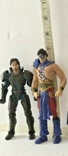 Jor_El Superman Action Figure Man Of Steel;The Atom Indigo tribe -LOT OF 2