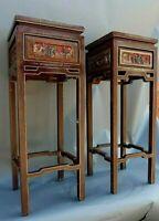 Beistelltisch- Paarpreis- für 2 Hochtisiche Antik, China, Möbel, Tisch,Buddha