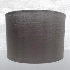 Slate Grey Easy Fit Modern Light Shade Zebra Print Liner Clearance Litecraft