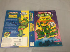 teenage mutant hero turtles vhs Promo Sample (Sleeve Only) Excellent Artwork