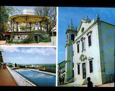 VILA FRANCA DE XIRA (PORTUGAL) KIOSQUE à MUSIQUE , PISCINE & EGLISE