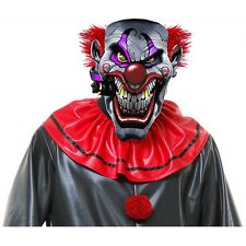 Smokin Joe Evil Clown Mask Costume Accessory Adult Mens Halloween