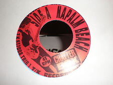 "Napalm Beach/Rancid Vat 7"" Chatter Box/Born To Lose T/K RECORD BLUE VINYL"