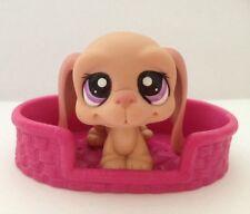 Littlest Pet Shop #2027 Pale Pink Basset Hound Dog RARE!!
