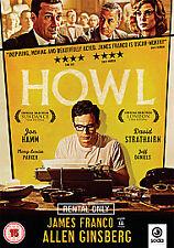 HOWL Jon Hamm James Franco NEW SEALED DVD