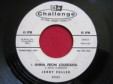 OLDIES 45 - JERRY FULLER - ANNA FROM LOUISIANA - CHALLENGE 59085