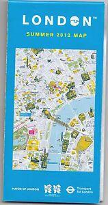 (BX) London Olympic Games 2012 Summer Souvenir Map