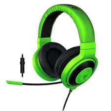 Auriculares verdes Razer de diadema para ordenadores