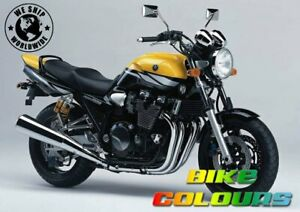 YAMAHA 2 COLOUR TOUCH UP KIT XJR1300 2003 EXTREME YELLOW AND BLACK METALLIC 2