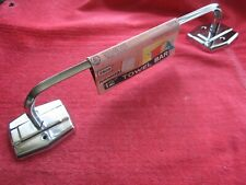 "VINTAGE 1961 EKCO AUTOYRE FAIRFIELD 12"" CHROME TOWEL BAR, USA MADE, NOS"