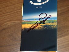 Bernhard Langer Senior Open Championship Signed Royal Porthcawl Scorecard COA