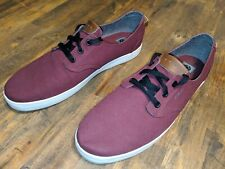 C1RCA Mens Harvey Maroon Classic Skate/Casual Shoes/Sneakers Size 12
