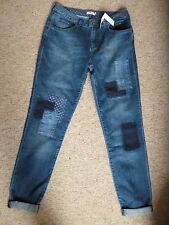 CATH KIDSTON PATCHWORK JEANS - NEW WITH TAGS - SIZE 8