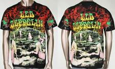 Vintage Led Zeppelin Houses of the Holy All Over Print Unworn Rock Tee T Shirt