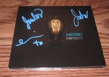METRIC Signed FANTASIES CD DIGICASE emily haines
