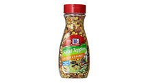 McCormick Crunchy & Flavorful Salad Toppings (Pack of 2) 3.75 oz Bottles