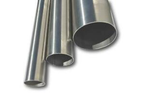 "1"" Up To 6"" Inch Od Exhaust Pipe Straight Tube 304 & 316 Stainless Steel 1 Metre"
