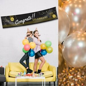 Congratulations Personalised Graduation Year 12 Class Party Banner Decorations