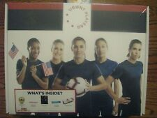 US WOMEN'S SOCCER Collectible Kit-mini ball, decal,etc ERTZ MORGAN WORLD CUP USA