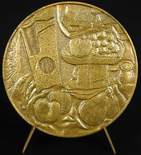 medal the painter cubist sculptor and engraver Georges Braque cubism medal