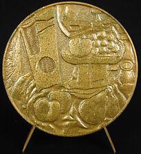 Médaille au peintre cubiste sculpteur et graveur Georges Braque cubisme medal