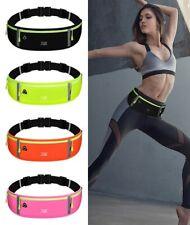 Unisex Running Belt Phone Holder Runner Waist Band Pocket Exercise Sport Gym