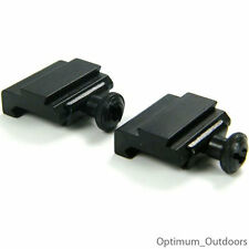 2 x 20mm Weaver to 11mm Dovetail Rail Adapters Mounts Converters Air Rifle Gun