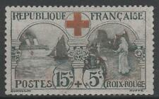 "FRANCE STAMP TIMBRE N° 156 "" CROIX ROUGE INFIRMIERE 15c+5c "" NEUF xx TTB  N481"