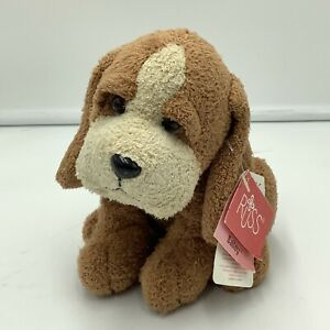 "Russ Berrie Luv Pets Bailey Plush Puppy Dog Stuffed Brown Tan Chamois 6"""