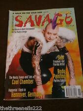 Tatuaje Savage # 19-Cuerpo De La Pintura-Oct 1997