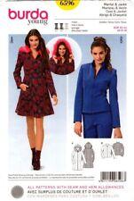Burda Sewing Pattern 6596 Ladies Coat and Jacket Size EUR 32-44 US 6-18