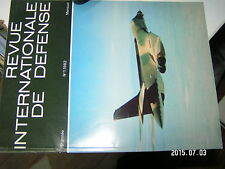 µµ Revue Internationale de Defense 1982 n°1 Missile AA-7 & AA-8 / B-1 AC300