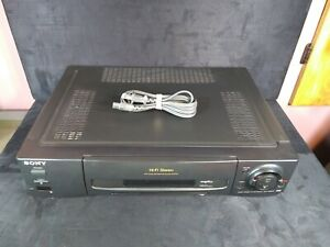 Sony SLV-780HF VCR - Not Accepting Tapes