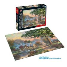 1000-piece jigsaw puzzle Art of The Port Before Christmas