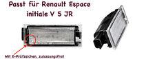2x TOP LED SMD Kennzeichenbeleuchtung für Renault Espace initiale V 5 JR (N06)
