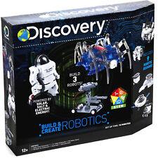 Discovery Kit Building 3 Robotics Solar/Salt/Electric Kids Toys Build Robot Toy
