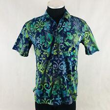 Columbia PFG Fishing Shirt Blue Short Sleeve Vented Men's Size S