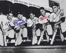 1950's New York Yankees Starting Lineup Autographed 8x10 Signed Photo Reprint