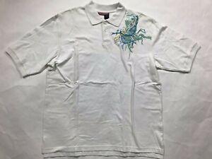 Roca Wear Short Sleeve men`s Shirt Size XL Chest 50 in Length 32in Sleeve 21in