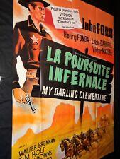 LA POURSUITE INFERNALE John Ford  henry fonda affiche cinema western
