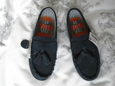 BRAND NEW NEXT BOYS BLUE SUEDE SLIP ON SHOES SIZE 11