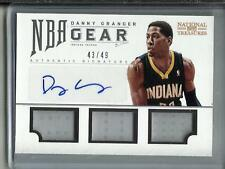 Danny Granger 12/13 National Treasures Autograph Game Used Jersey #43/49