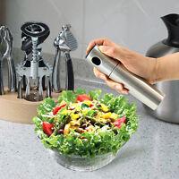 Edelstahl Olive Pumpspray Fein Flasche Öl-Sprüher Pot Cooking Werkzeug-Kit