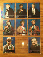 Doctor Who Cornerstone Series 3 Rare Foil Master + 7 Foil Chase Trading Card Set