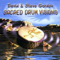 DAVID & STEVE GORDON - SACRED DRUM VISIONS  CD NEU