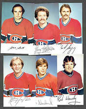 1982-83 Montreal Canadiens Team-Issued Set (26/27missing Berry), Lafleur, etc.