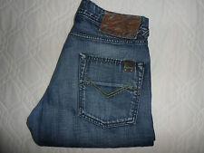 "W32 L30 ENERGIE Rocco Mens Blue Denim jeans Size Waist 32"" Leg 30"" MADE ITALY"