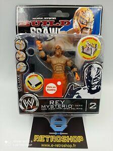 WWE Deluxe Build n Brawl REY MYSTERIO figurine série 2 giochi preziosi
